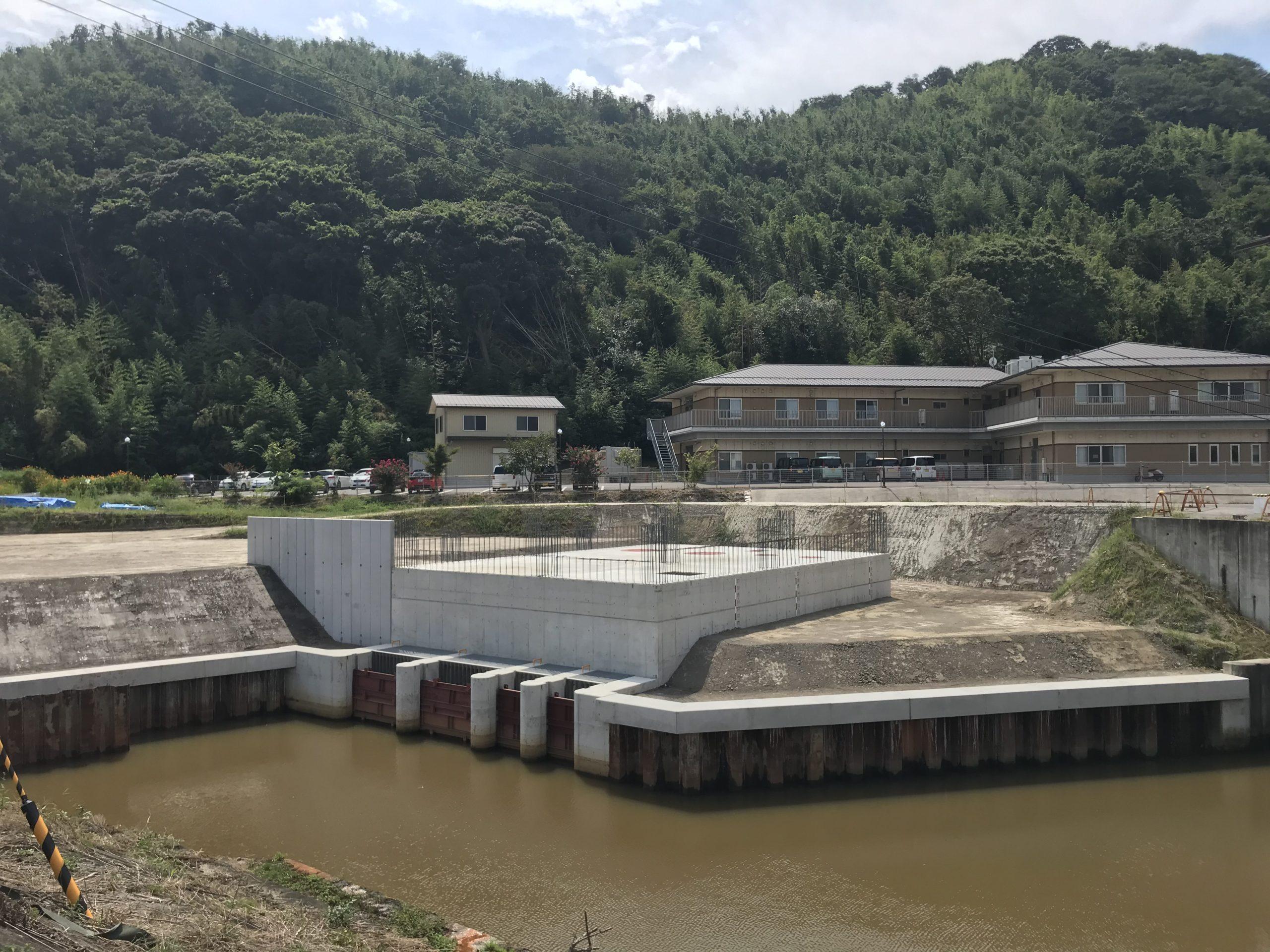 水茎地区排水機場整備第2工事