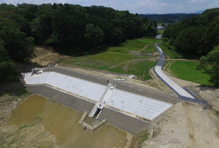 上ノ池地区ため池整備工事